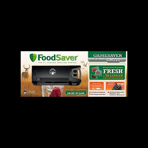 Food Saver GameSaver GM710 Vacuum Sealer Black