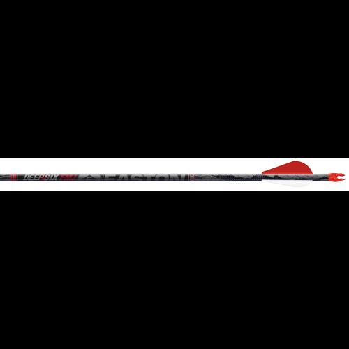 "FMJ Deep Six 4mm 330 Arrows w/2""Blazer Vanes & Insert Loose"