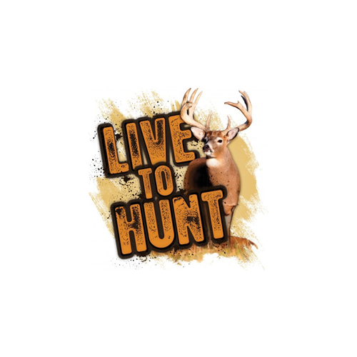Live to Hunt Series Whitetail Decal