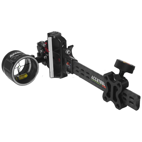 Accutouch Plus Carbon Pro Slider Sight 1 Pin .010 Black
