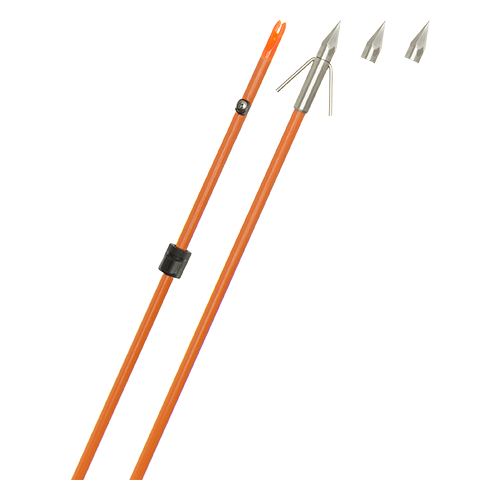 Fin Finder Raider Pro Arrow Orange w/Big Head Point