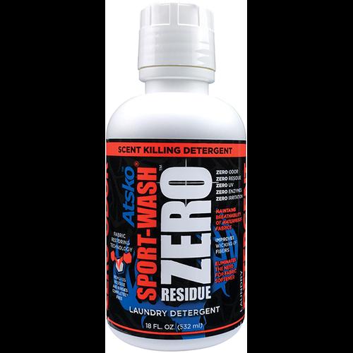Zero Sport Wash Detergent 18oz Bottle