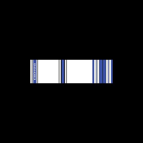 Bohning Arrow Wrap Crested Blue 7in. Std 13 pk