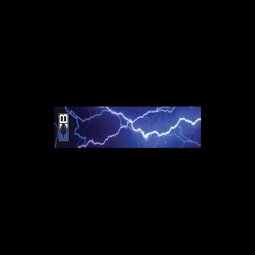 Bohning Arrow Wrap Blue Lightning 7in. Std 13 pk
