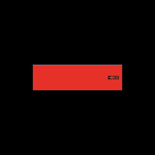 Bohning Arrow Wrap Neon Red 7in. Std 13 pk