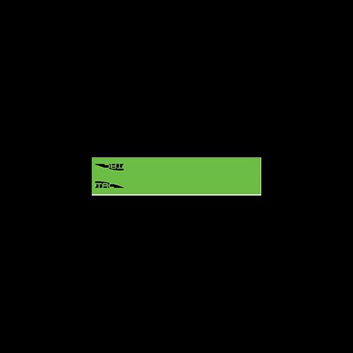 TAC Vanes Arrow Wrap Green 4.25 x 1.0 in. 13 pk.