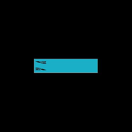 TAC Vanes Arrow Wrap Turquoise 4.25 x 1.0 in. 13 pk.