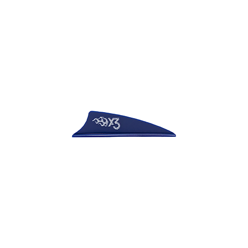 Bohining X3 Vane Blue 1.75in. 100 pk.