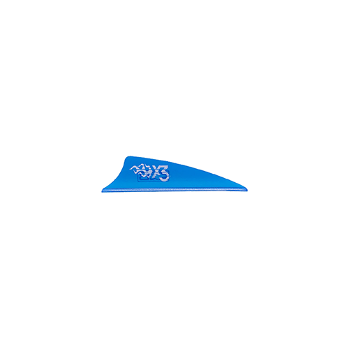 Bohining X3 Vane Satin Blue 1.75in. 100 pk.