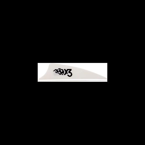 Bohining X3 Vane White 1.75in. 100 pk.