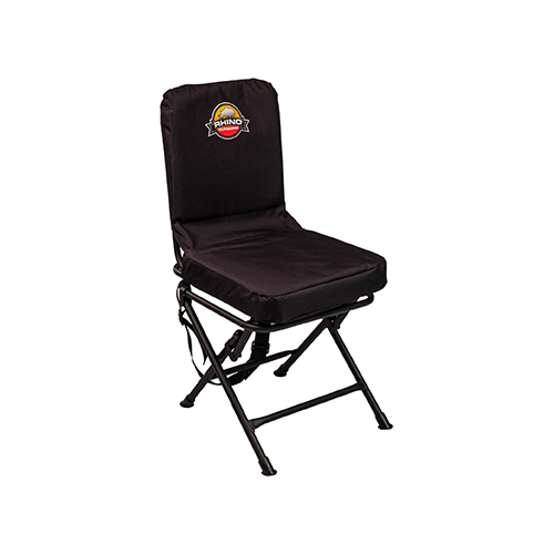 Rhino Blind Foldable Swivel Chair Black
