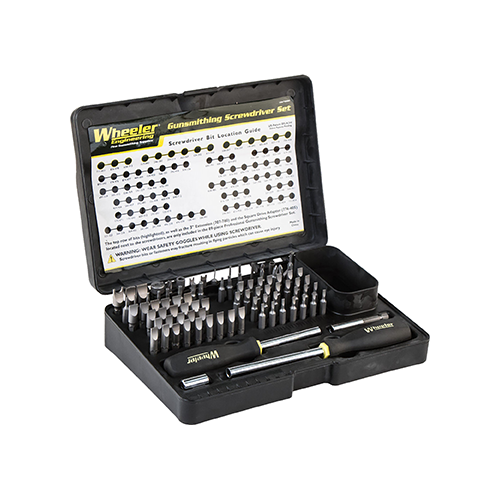 Wheeler Profession Gunsmithing Set Screwdriver 89pc.