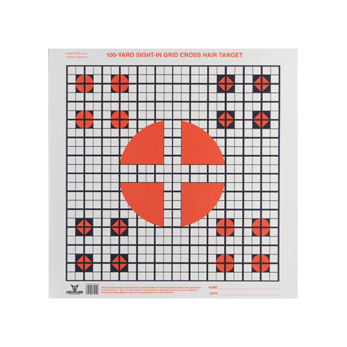 3006 Sight in Grid Target 20pk.