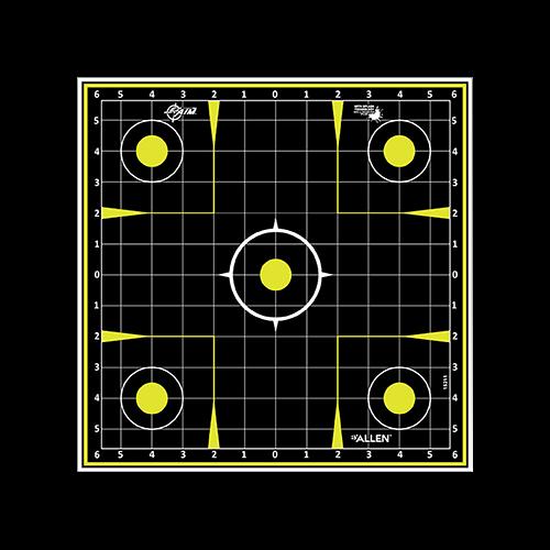 Allen EzAim Splash Sight-In Grid Paper Target 12x18 12pk.