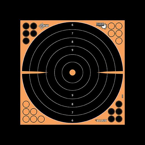 Allen EzAim Splash Bullseye Adhesive Target 17.5x17.5 5pk.