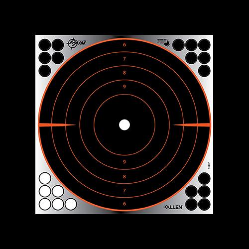 Allen EzAim Splash Bullseye Adhesive Target 12x12 4pk.
