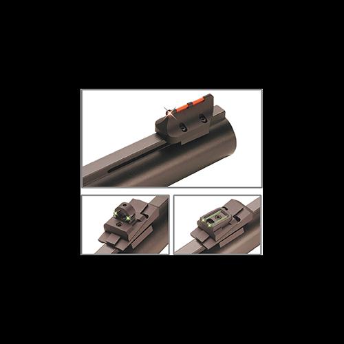 TruGlo Xtreme Universal Shotgun Sights Black Front & Rear Sight