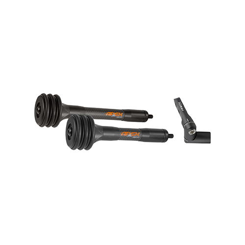 Apex End Game Stabilizer Kit Black 8in/6in w/Rear Mount