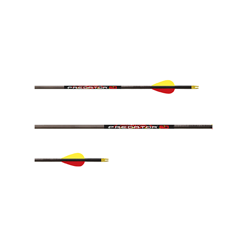 Carbon Express Predator SD Arrows 400 2in Vanes 36 pk