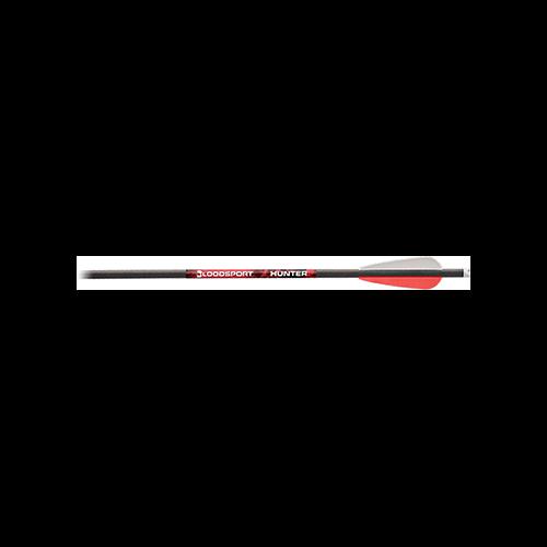 BloodSport Hunter Crossbow Bolts 20 in. 4in Vanes 3 pk.