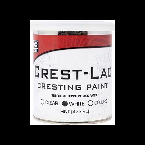 * Bohning Crest-Lac Paint White Pint