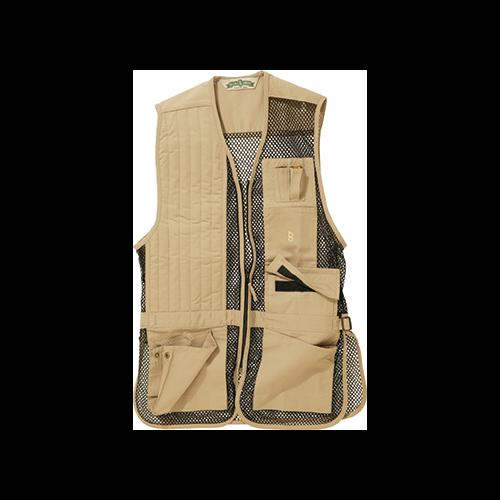 Bob Allen Full Mesh Shooting Vest Khaki Large