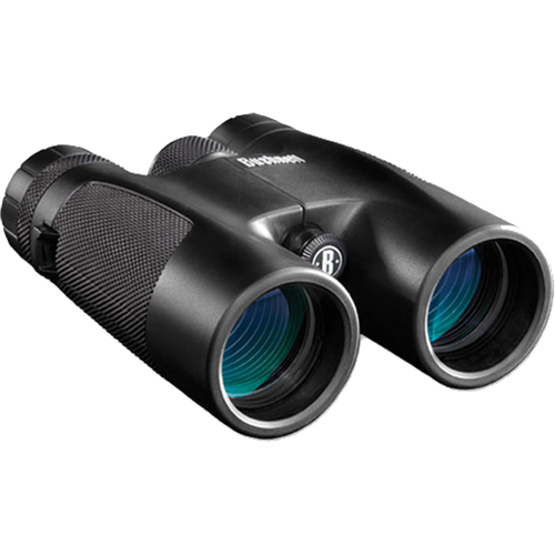 Bushnell 10x42 Powerview Zoom Binocular Black Roof Prism
