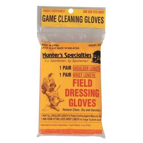 Hunters Specialties Field Dress Gloves Short 1 pr.