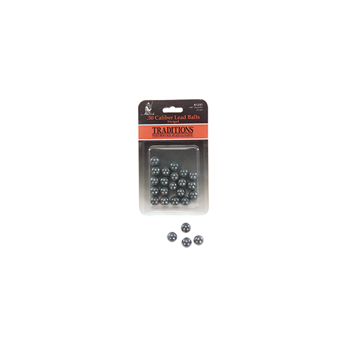 Traditions Swaged Round Balls .50 cal. 20 pk.