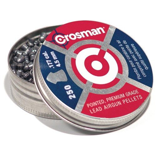Crosman Pointed  Pellets .177 cal. 250 pk.