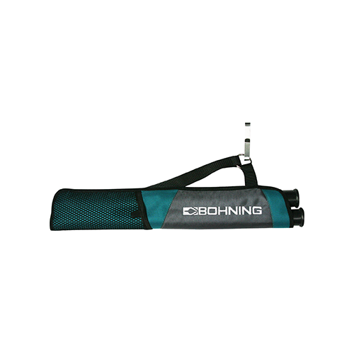 Bohning Tube Quiver Gray and Teal