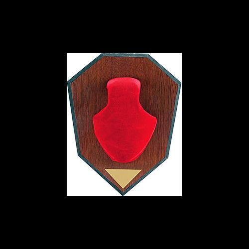 Allen Antler Mounting Kit Red Skull Cap