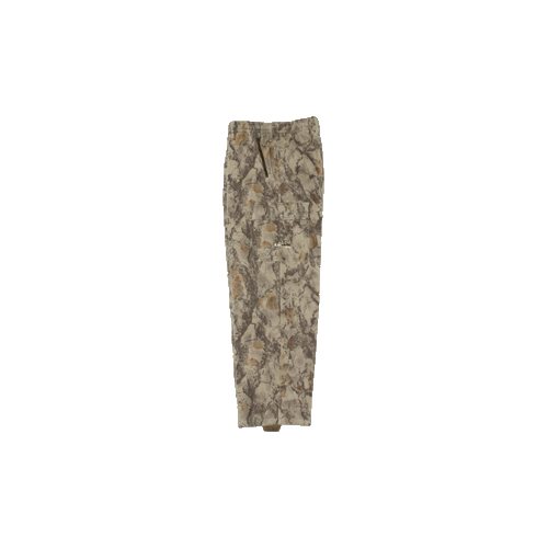 Fleece Pants Natural Camo 2X