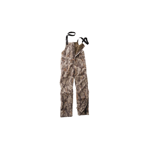 Fleece Windproof Bibs Natural Camo Large
