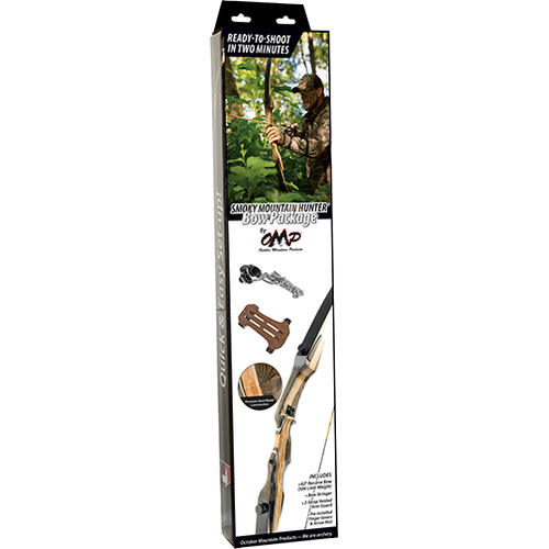"OMP Smokey Mountain Hunter Bow Package 62"" 45# Right Hand"
