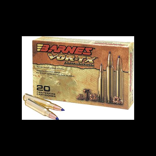 * Barnes VOR-TX Rifle Ammo 243 Win. 80gr TTSX BT 20rd
