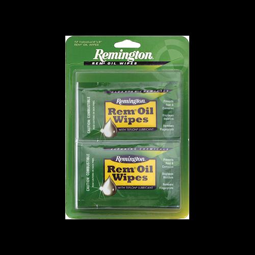 * Remington Rem Oil Wipes 12 Count Pack