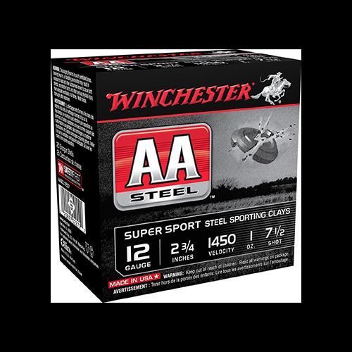* AA Steel Target Sporting Clay 12ga 2.75in. 1oz 7.5 Shot 25rd