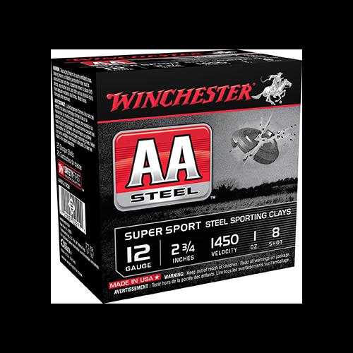 * AA Steel Target Sporting Clay 12ga 2.75in. 1oz 8 Shot 25rd
