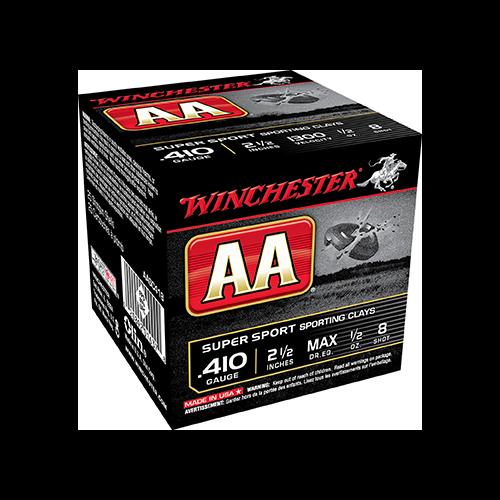 * AA Sporting Clays Load 410ga 3in. 1/2oz 8 Shot 25rd