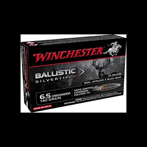 * Ballistic Silvertip Rifle Ammo 6.5 Creedmoor 140gr 20rd