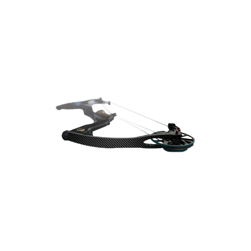 Compound Bow/Crossbow Limb Skin Black Carbon Finish