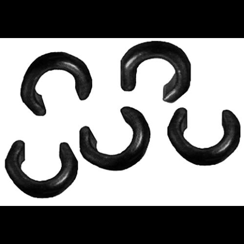 Saunders Solid Brass Positionin Ring 16-18 Strand 50 pk