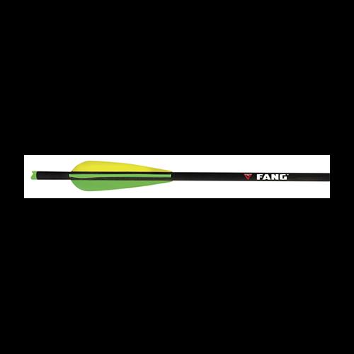 "Fang Crossbow Bolts 20"" w/Vanes w/Halfmoon Nocks"