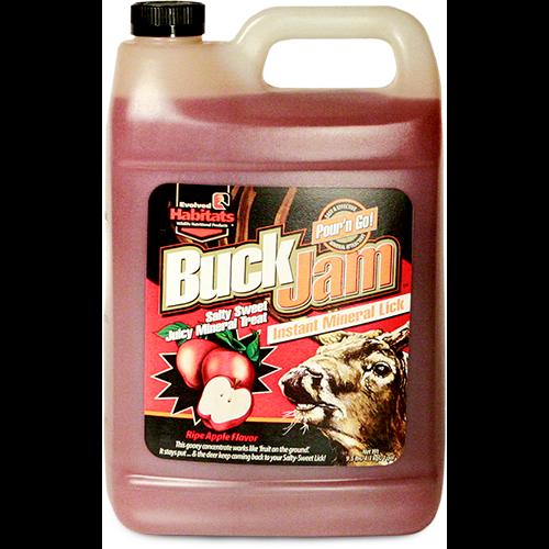 Elvolved Buck Jam Liquid Ripe Apple 1 gal.