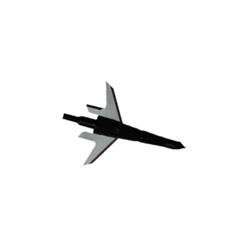 """Swhacker 125gr Broadhead 2.25"""" Cut w/Practice Head & DVD"""