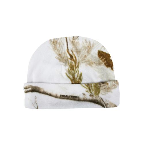 Lightweight Fleece Cap Realtree All Purpose Snow OSFM