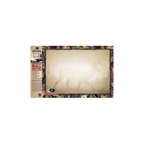 Dry Erase Board Camo Border Whitetail