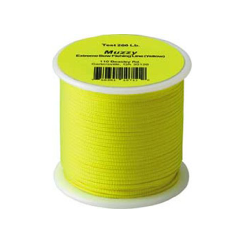 Muzzy 200# Bowfishing Line Lime Green Braided 100ft Spool