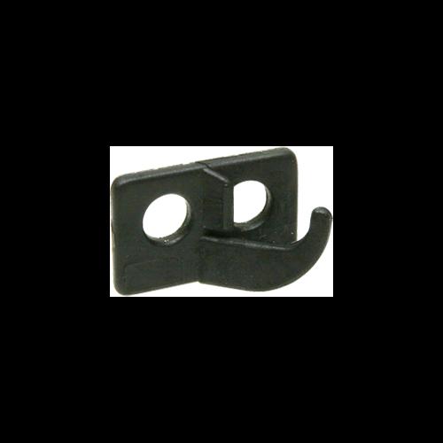OMP 2 Hole Rest Black Left Hand